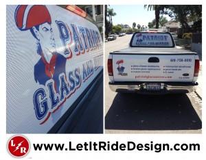 Patriot Glass & Mirror micro-perf