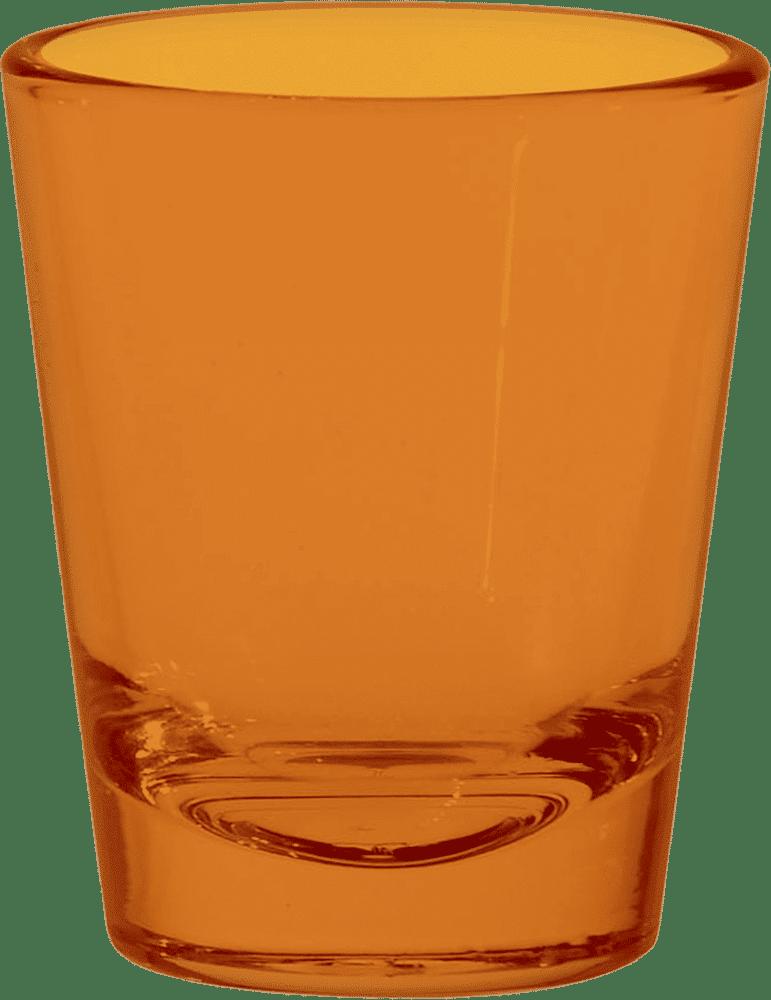 Orange Shot Glasses