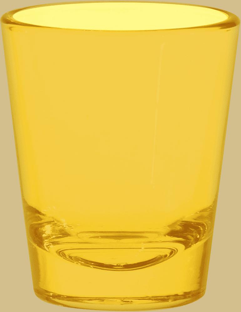 Yellow Shot Glasses